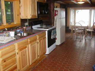 Lake George house photo - Kitchen and Dinette Area
