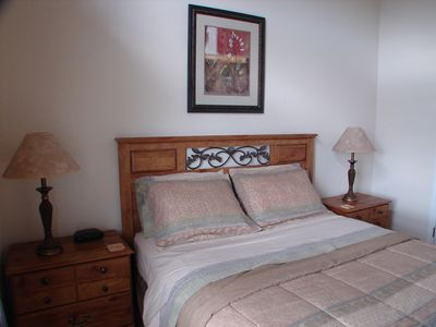 Cape Coral villa rental - Queen bedroom with TV