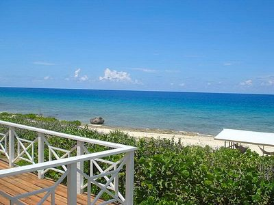 Cayman Brac house rental - 180 degree unobstructed views from house