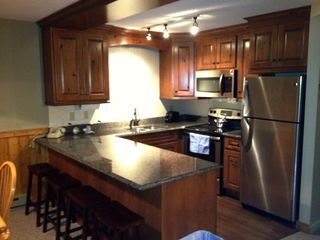 Jay Peak condo photo - Brand new Kitchen Completed with Granite and Stainless Steel Appliances.