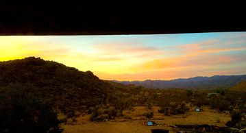 Joshua Tree house rental - Sunrises to let your soul soar.