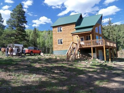 by colorado near com owner pitkin county cabins cabin vacation byowner in rentals home gunnison mountain