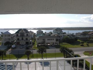 New Smyrna Beach condo photo - Intercoastal Waterway Views from Back Porch