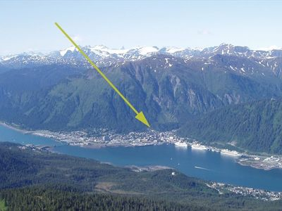 Juneau townhome rental - On the edge of downtown and near great hiking trails.