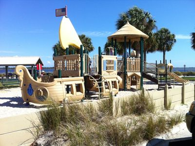 Public Beach Kids Playground