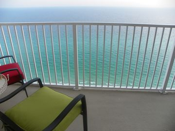 Gulf Resort Beach condo rental - View from Balcony