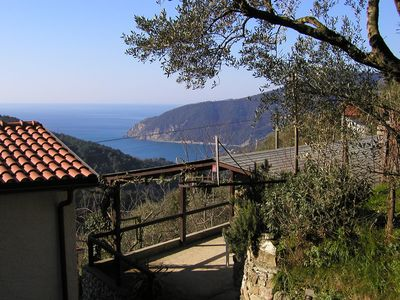 House in the country, 62 m²,  with garden-veranda, sea view, near