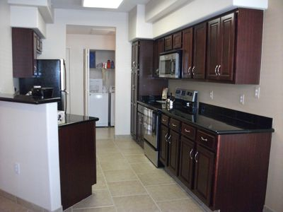 recently renovated and fully equipped kitchen, new tiling throughout