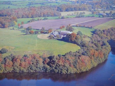 Autumn at Troutsdale Farm by Tittesworth Reservoir