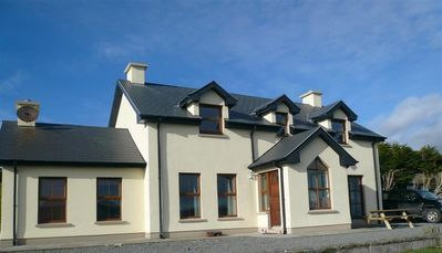Front of house - typical Cork country house style