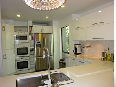 East Hampton house rental - NEW Open Kitchen II (fridge with ice and water, microwave and 2 oven)