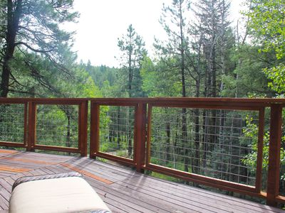BEAUTY IN SPRING: Play among the trees in this 3/2 cabin just 80 miles from Phx