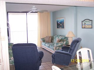 Gulf Shores condo photo - Living Room Looking over Lagoon