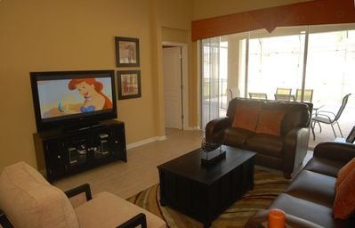 "Watch the 50"" State Of The Art Flat Screen Plasma HDTV,"