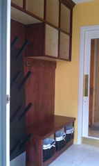 Old Town condo photo - Mud room at entrance w/ cubbies & electric boot dryer