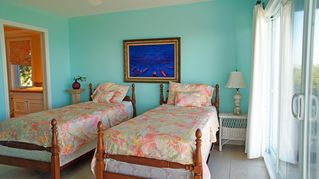 Great Exuma house photo - The Exuma Room, separate beds with an ocean view.
