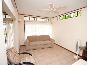 With a spacious living area suitable for kids