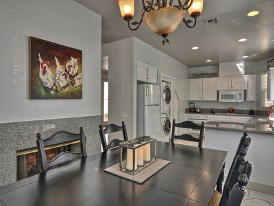 San Clemente townhome rental - Dining room and Kitchen