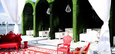 Pamper yourself at the 5 Star Mondrian in the heart of Miami Beach