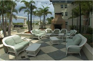 Tampa townhome photo - Resort BBQ-Grill area
