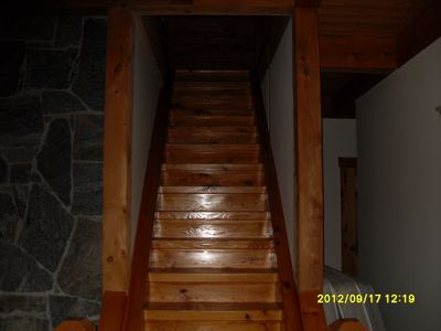Stairway to Top Level