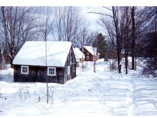 Ascutney farmhouse photo - Winter View