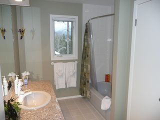Canmore house photo - Bathroom #2 - shared by Bedrooms #2 & #3
