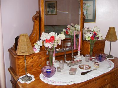 Granny's dressing table