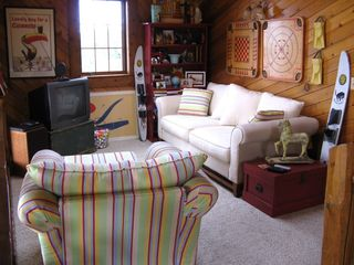 Claybank Township cottage photo - Family room Loft Area