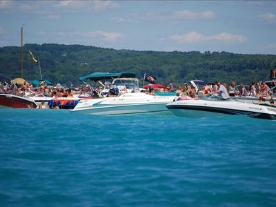 Picture of Torch Lake taken while vacationing last summer - a boat ride away!