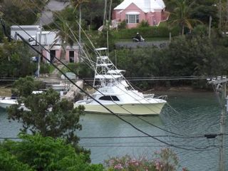 Bermuda studio photo - Views of the boat mouring from the home