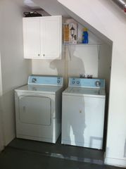 New Smyrna Beach house photo - Large capacity washer/dryer.