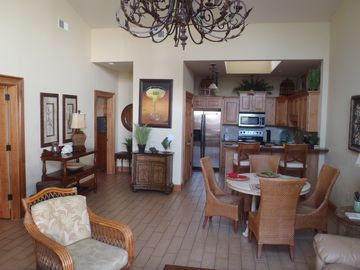 Tybee Island condo rental - Spacious Living Area