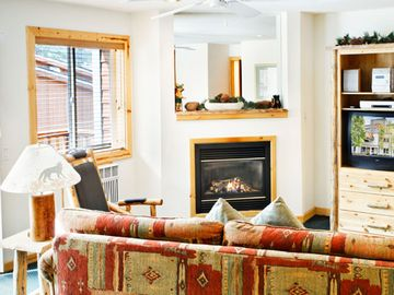 Alpine Meadows condo rental - Living Room