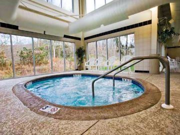Indoor Jacuzzi at the Shawnee Village Resort