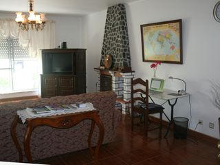 Terceira Island house photo - Lower level family room right off of lower level kitchen
