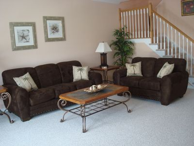 Wildwood Crest townhome rental - 1st level living area