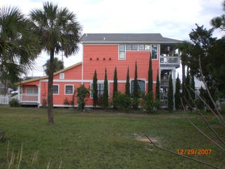 Tybee Island house photo - View of Coral House from Hwy 80