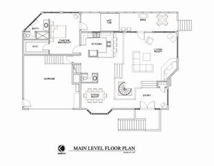 Durango house photo - Main Level Floor Plan