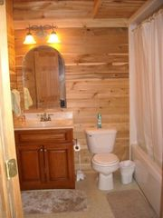 Nancy cabin photo - Full bathroom located in the basement