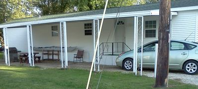 Sandusky cottage rental - Add on space for larger groups