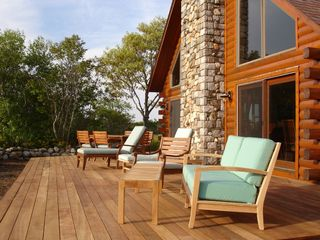 Provincetown house photo - The deck is so spacious . . .