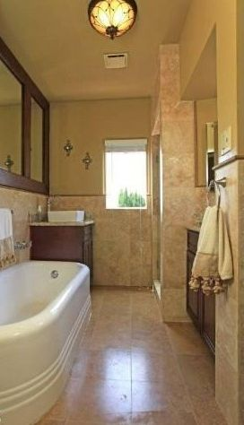 Master Bathroom with 12in rainfall shower