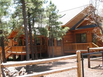 Pinetop cabin rental - Welcome Home! Get swept away with the cool breeze blowing through the pines.