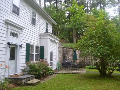 Great Barrington house rental - House front & patio