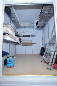Mayfair property rental - Storage room