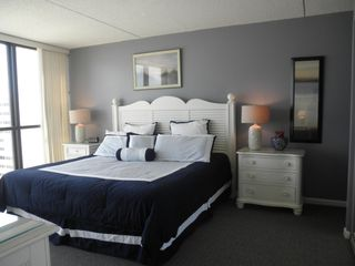 Golden Sands Ocean City condo photo - MASTER BEDROOM
