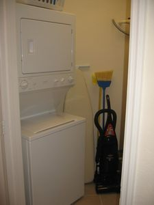Caribe Cove condo rental - Laundry Room with Washer/Dryer
