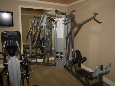 Lucaya Village townhome rental - Lucaya Village Resort Fitness Room