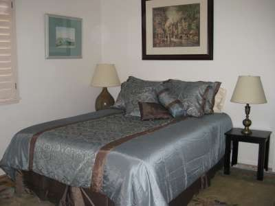 Santa Barbara house rental - 2ND BEDROOM HAS QUEEN SIZED BED, LARGE CLOSETS AND